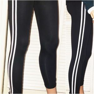 Pants - 🆕 Double striped leggings